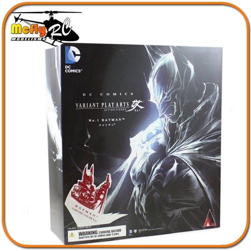Batman Limited Color Ver. Play Arts Variant Square Enix Dc