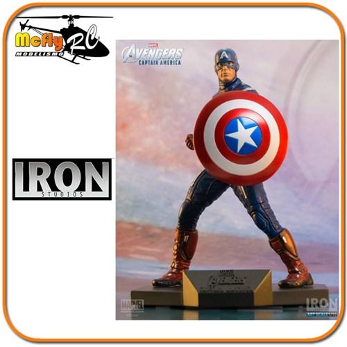 Capitão América Art Scale - 1/10 - Iron Studios Avengers
