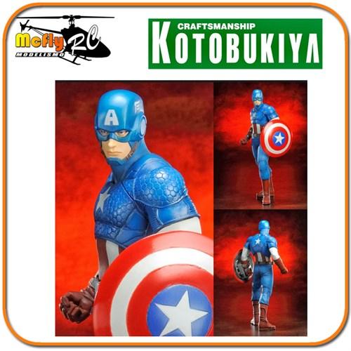 Captain America Kotobukiya Artfx Avengers Capitão America Marvel Now