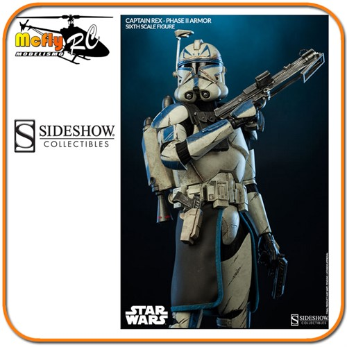 Sideshow Star Wars Captain Rex Sixth Scale 1/6 Lançamento