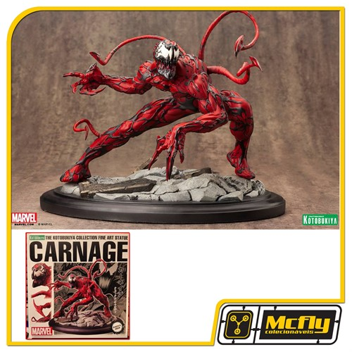 Kotobukiya Maximum Carnage Fine Art Statue Spider man