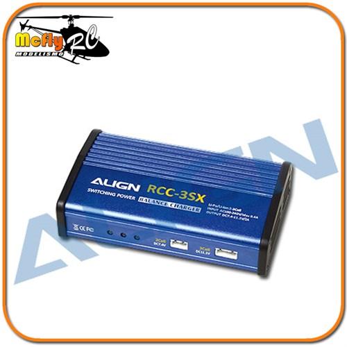 Align Carregador E Balanceador Lipo 3s 2s Hec3sx01a Rcc-3sx