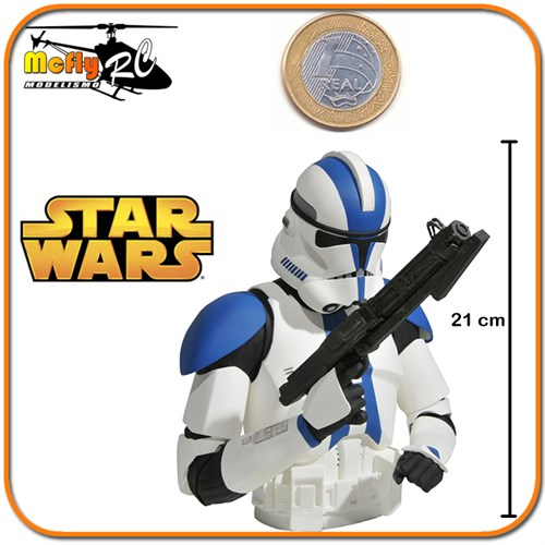 Star Wars Commander Trooper Cofre Cofrinho De Moedas Darth