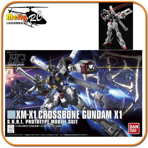 Gundam Cross Bone Crossbone X1 HGUC #187  1/144