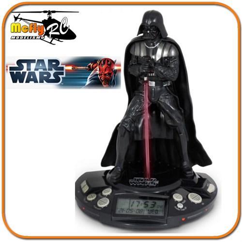 Alarme Radio Relógio Darth Vader Jazwares Star Wars Figura