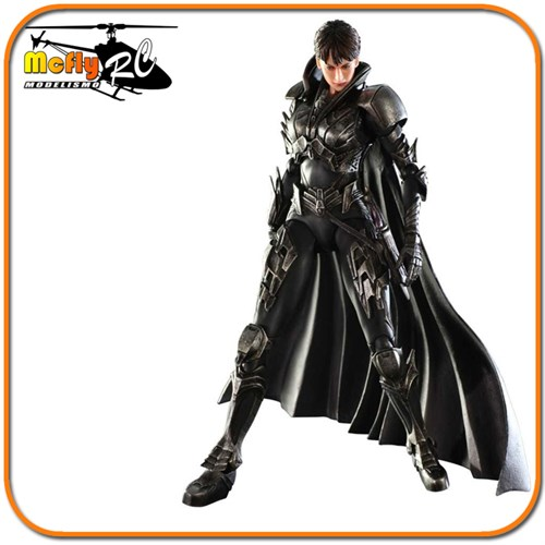 O Homem De Aço Super Man Faora Play Arts Kai Square Enix