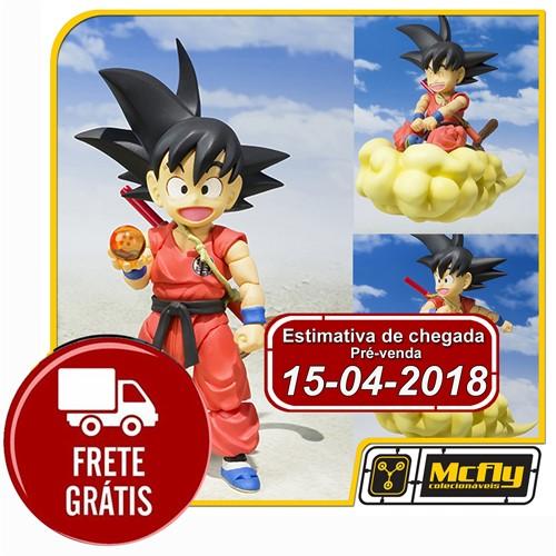 (RESERVA 10% DO VALOR)FRETE GRÁTIS S.H Figuarts Kid Goku Dragon Ball Z 15/04/2018