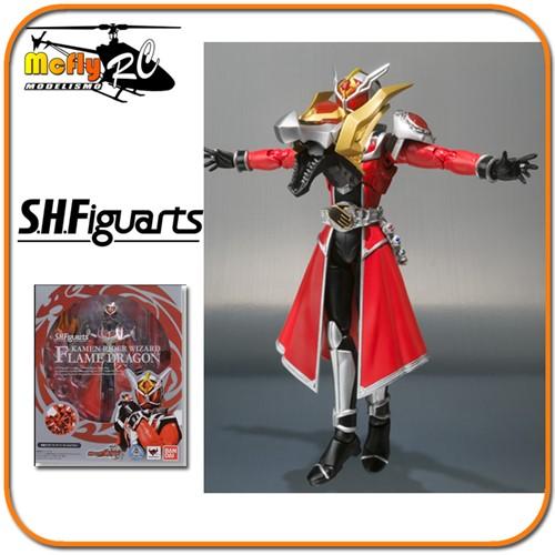 S.H Figuarts Masked Rider Wizard Flame Dragon Kamen Rider