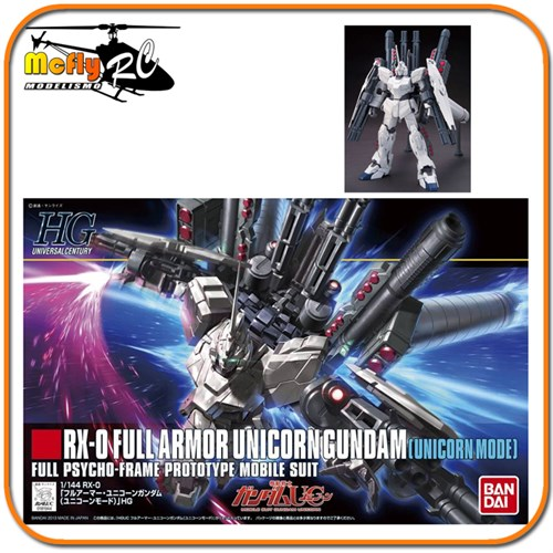 Gundam Unicorn 1/144 Hguc #156 Rx-0[fa] Full Armor Unicorn