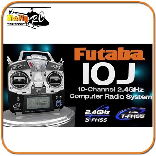 Radio Futaba 10j T10j Telemetria Aceita Aviao Drone Heli