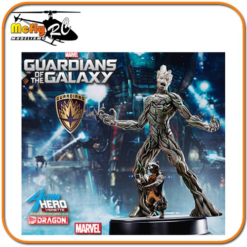 Guardians of the Galaxy Groot Rocket Raccoon Guardioes das Galaxias Dragon