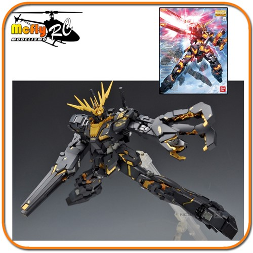 MG Master Grade RX-0 Unicorn Gundam Unit 02 Banshee 1/100