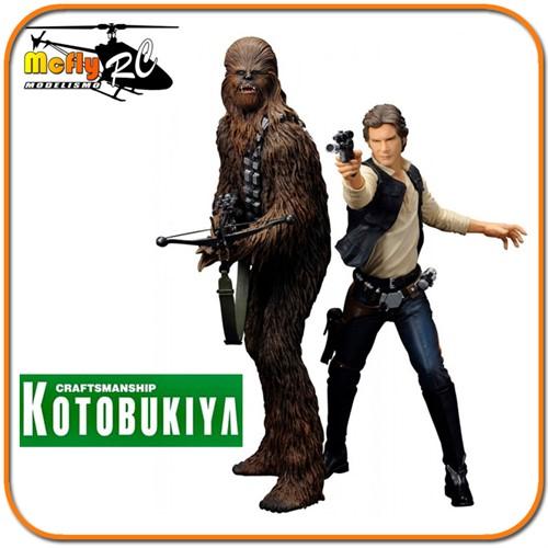 Kotobukiya Star Wars Han Solo & Chewbacca ARTFX 1/10