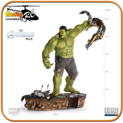 Iron Studios Hulk Avengers Battle Scene 1/6 Diorama Vingadores