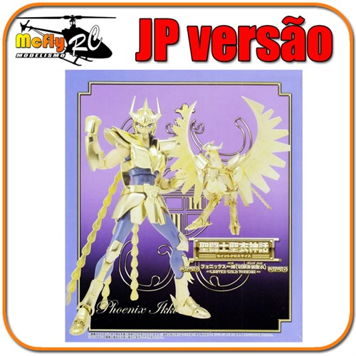 Cloth Myth Cavaleiros Do Zodiaco Ikki Fenix V1 Gold Jp