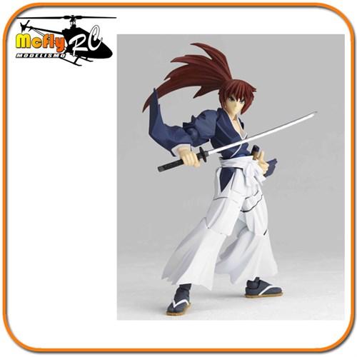 Revoltech Himura Battohsai Rurouni Kenshin 110 Samurai X