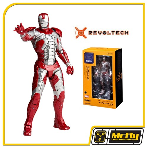Legacy of Revoltech Iron Man Mark V LR-024