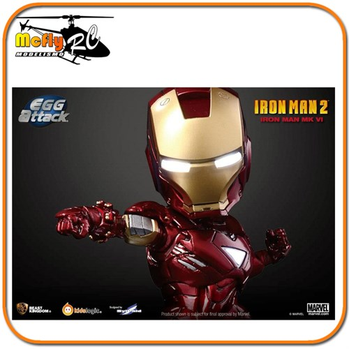Kids Logic Iron Man 2 Mark Vi - Egg Attack