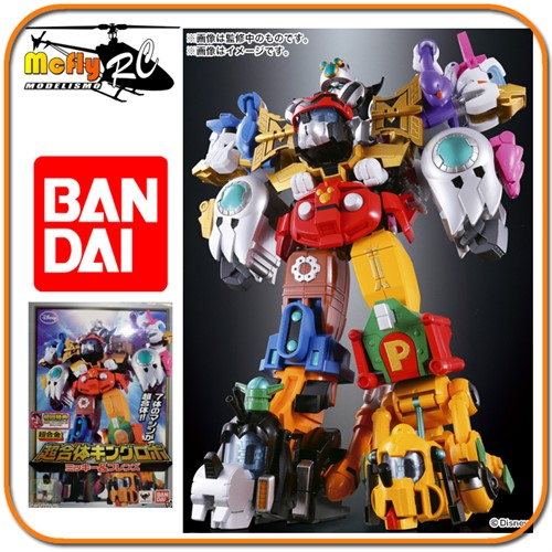 Power Ranger Megazord Disney Chogokin Cho Gattai King Robo Mickey & Friends Donald Minnie