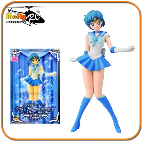 Sailor Moon Sailor Mercury Banpresto Original Com Selo Toei