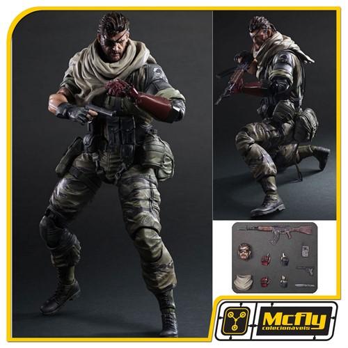 Metal Gear V  Snake Venom The Phantom Pain Play Arts