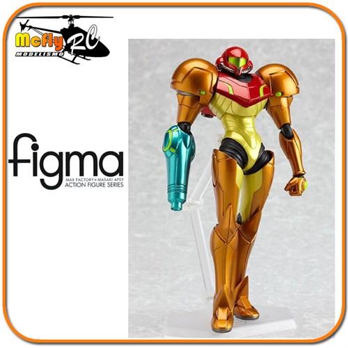 Samus Aran Metroid Figma Nintendo Max Fatory Fantastico