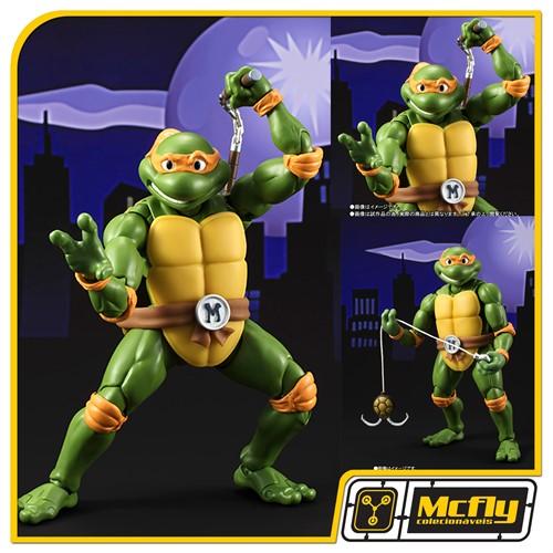 S.H.Figuarts Michelangelo Os tartarugas Ninjas