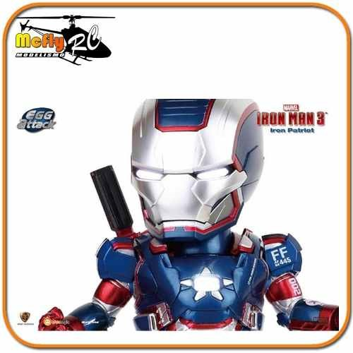 Iron Man 3 Iron Patriot Egg Attack Ea006 Iron Patriota