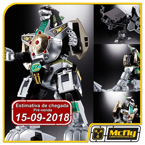 (RESERVA 10% DO VALOR) DragonZord GX-78 Chogokin Bandai Diecast Power Ranger