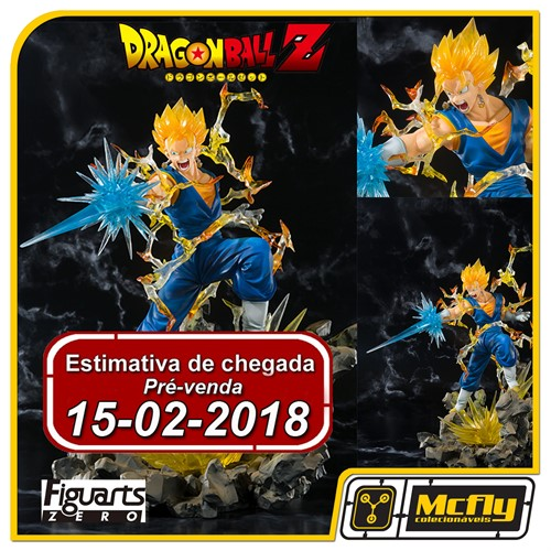 (RESERVA 10% DO VALOR) FIGUARTS ZERO Vegetto Dragon Ball Z Bandai