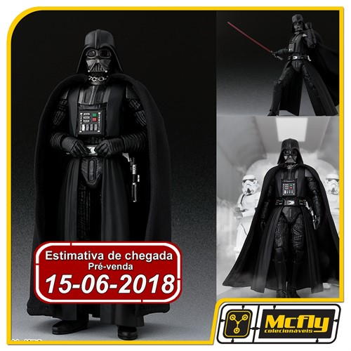 (RESERVA 10% DO VALOR) S.H Figuarts Star Wars Darth Vader A NEW HOPE