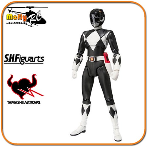 S.H. Figuarts Black Ranger (americano) Mighty Morphin Power Rangers