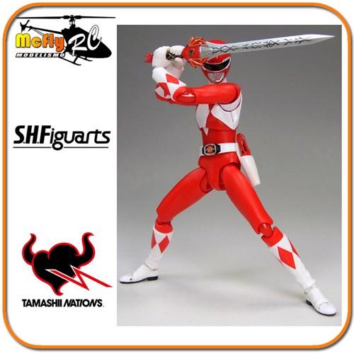 S.h Figuarts Power Ranger Red Ranger Bandai (americano)