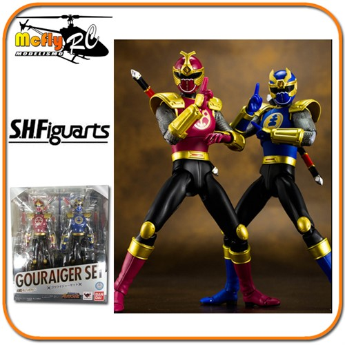 S.H Figuarts Power Ranger Gouraiger Set