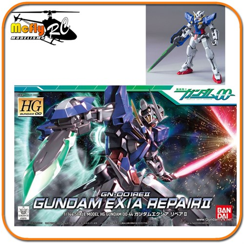 Gundam 00 1/144 HG #44 GN-001REII Exia Repair II Model Kit