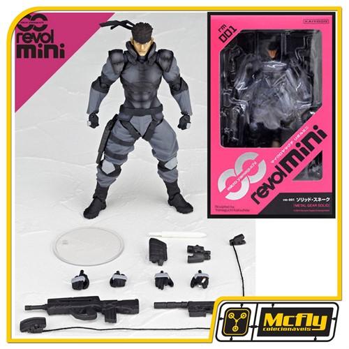 RevolMini 001 Solid-Snake METAL GEAR SOLID Revoltech