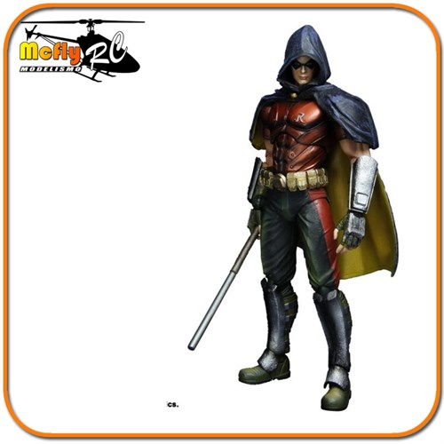 Robin Play Arts Kai Batman Arkham City P/entrega Novo