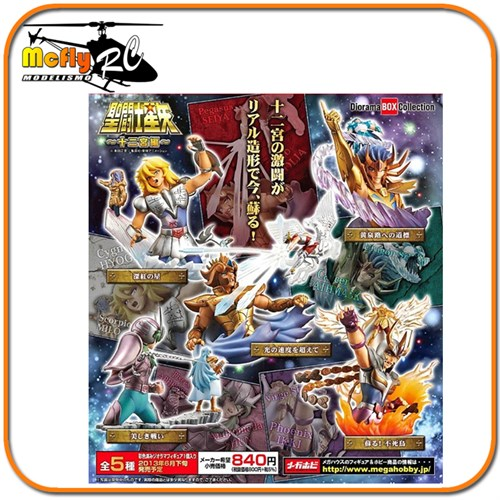 Cavaleiros Do Zodiaco Saint Seiya Diorama Box Collection