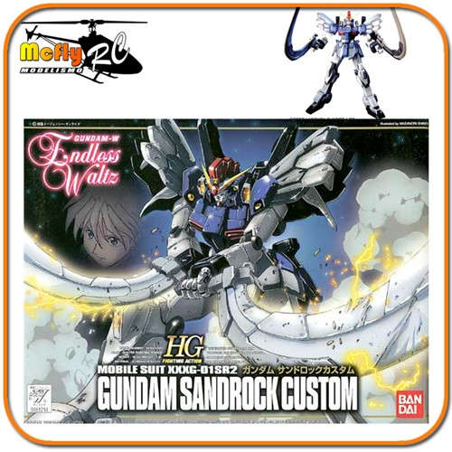 Gundam Wing Endless Waltz 1/144 HG EW-07 XXXG-01SR2 Sandrock Custon