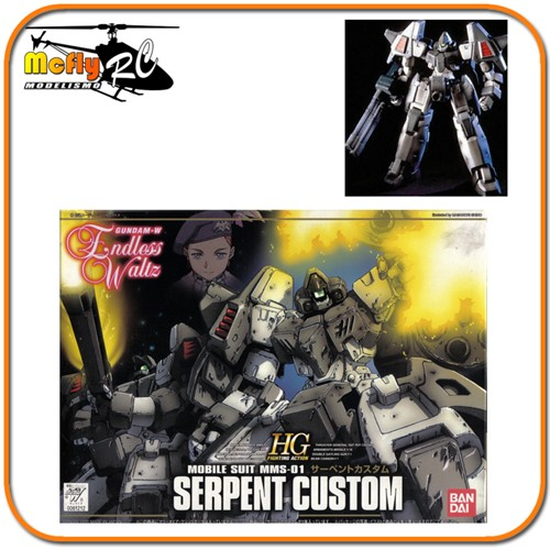 Gundam Wing Endless Waltz 1/144 HG EW-04 MSS-01 Serpent Custom