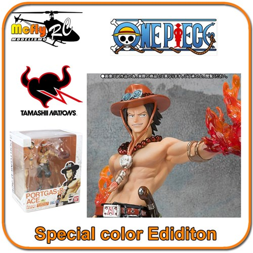 One Piece Figuarts Zero Portgas D Ace Special Color Edidion