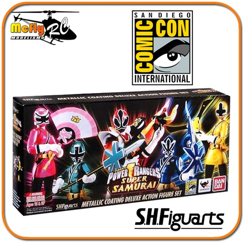 S.H.Figuarts Saban's Power Ranger Super Samurai SDCC