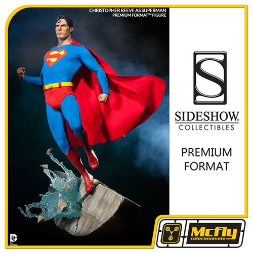 Superman Premium Format Figure Sideshow Christopher Reeve