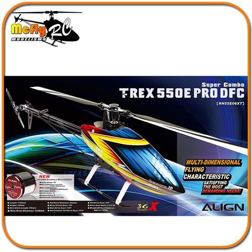 T-REX 550E PRO DFC Super Combo RH55E06XW
