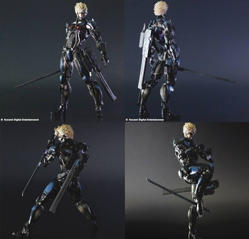 Metal Gear Rising Revengeance - Raiden Play Arts Lacrado