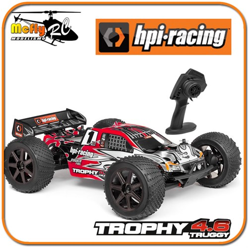 Carro Radio Controle Hpi Trophy Truggy 4.6 4wd 2.4ghz #107014
