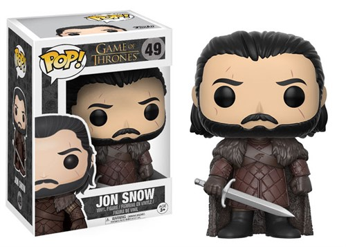 Pop Funko 49 Jon Snow - GOT - Game of Thrones