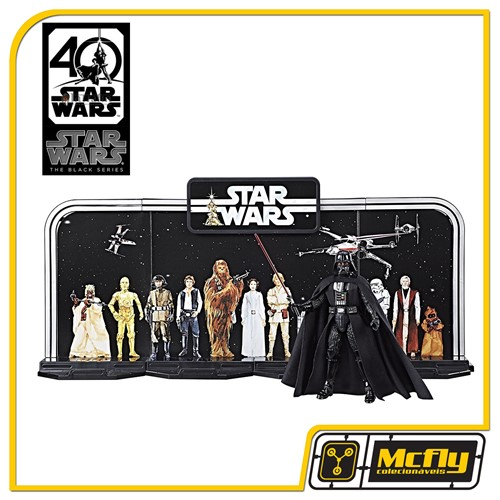 Star Wars The Black Series 40th Anniversary Legacy Pack C/ Darth Vader