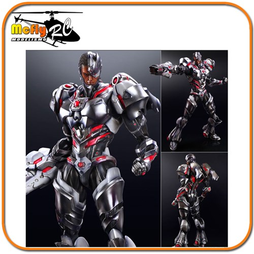 Variant Cyborg Play Arts Kai DC Comics