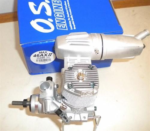 Motor O.s 46ax Ll Com Rolamento 46 Ax 2 Engine Nitro